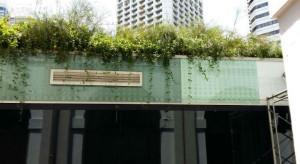 External facade using Frit Glass