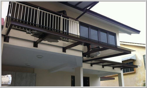 Glass Awning Residential