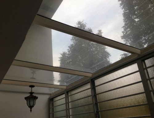 Glass Canopy for Home Outdoors