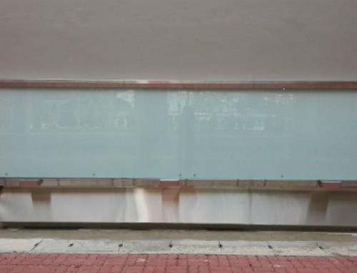 Mega Sized Glass Board as a Graffiti Wall?