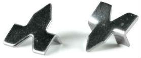 Steel push points