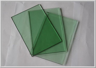 Tinted Glass with green hue