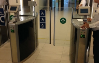 Glass Panel Signages for communication