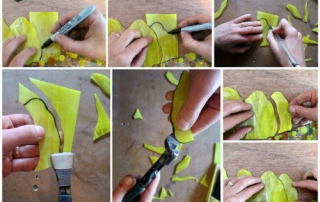 How to cut glass at home