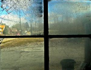 Grimy window