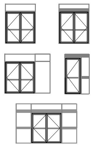Types of Glass Shopfront mechanisms