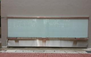 Outdoor Glass Board