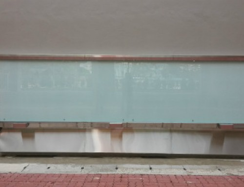 Mega Sized Glass Board as a Graffiti Wall?