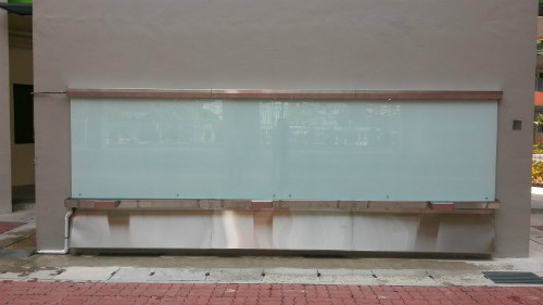 Outdoor Glass Board