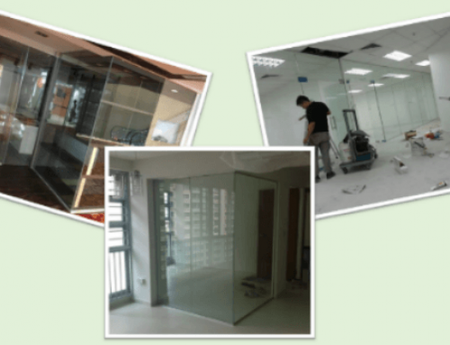 Glass Enclosed Rooms & Glass Storefronts in Singapore West