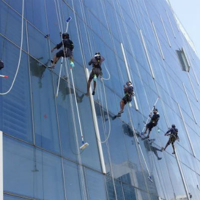 Rope access supervisor and technicians