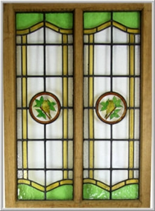 Stained Glass in Doors