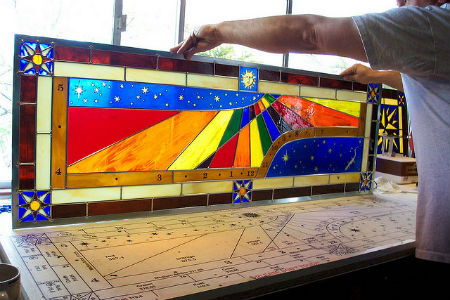 Artistic stained glass