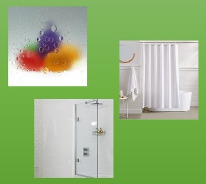 3 types of shower panel materials